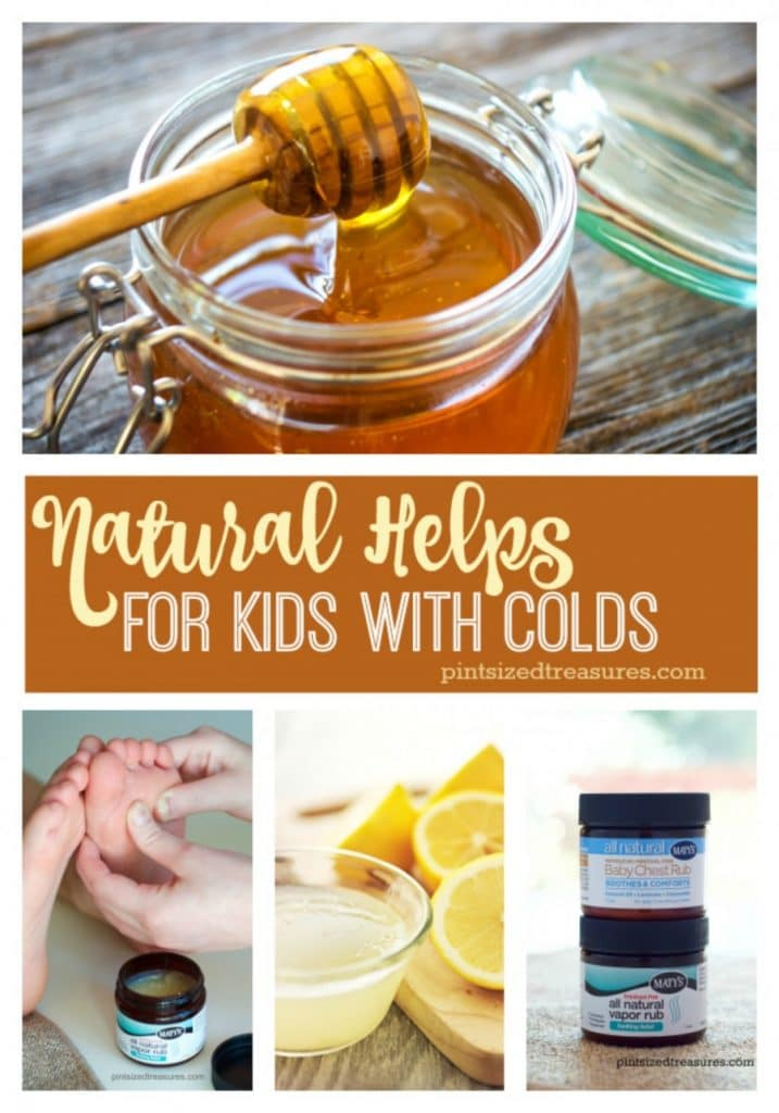 Natural Helps for Kids with Colds
