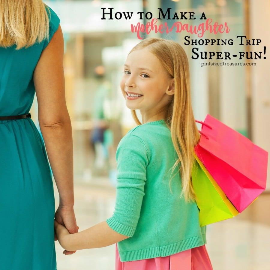 how to make shopping trips fun