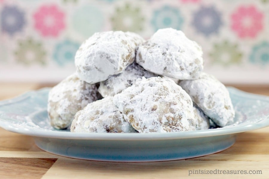 chocolate chip snowball cookie recipe