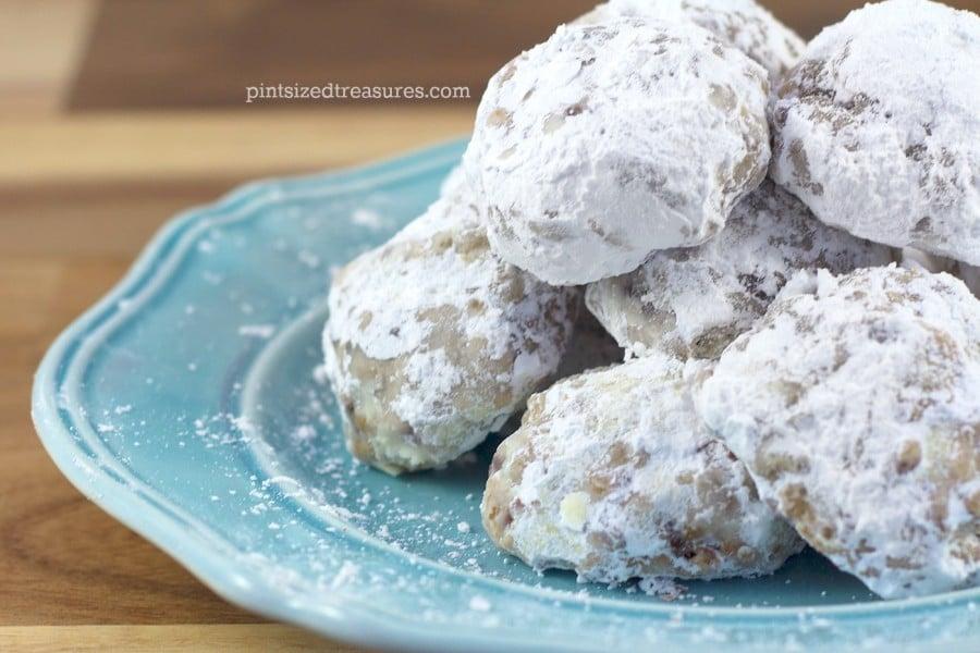 powdered snowball cookies recipe