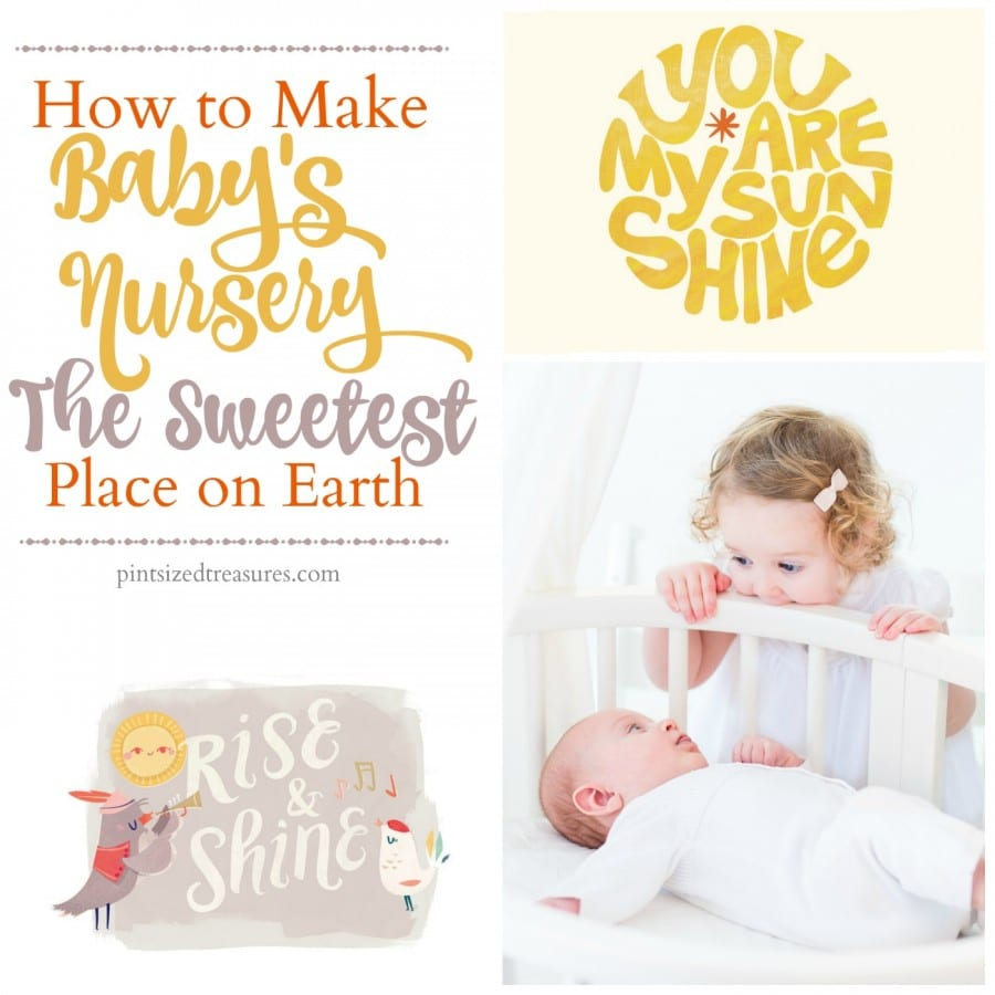 awesome ideas for baby nursery
