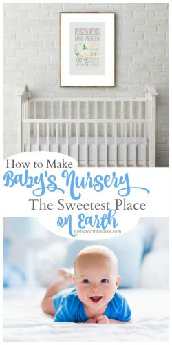How to Make Baby's Nursery the Sweetest Place on Earth