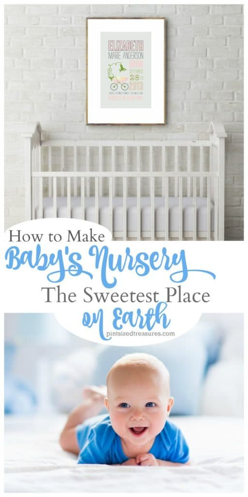 how to make babies nursery the sweetest place on earth