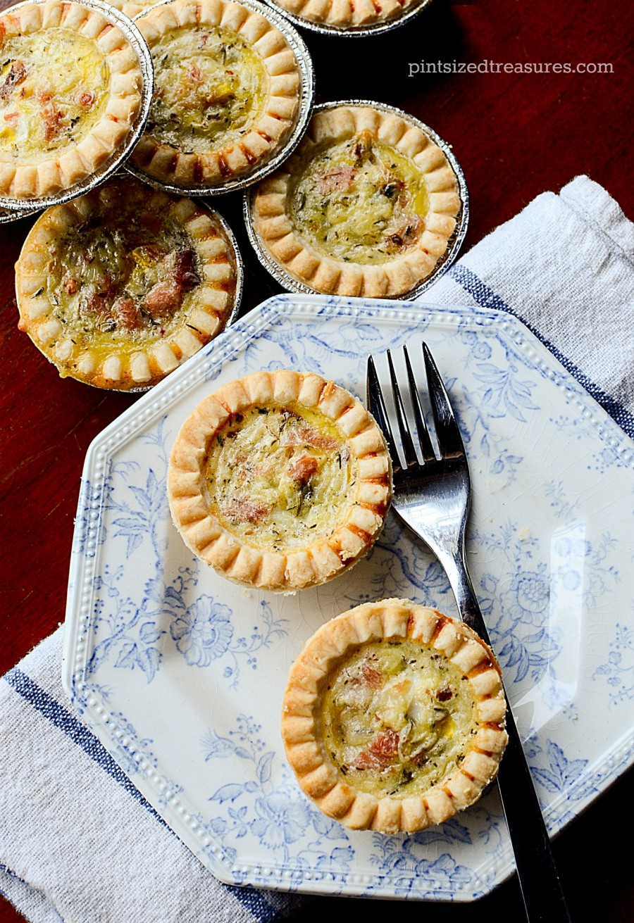 ham and havarti quiche