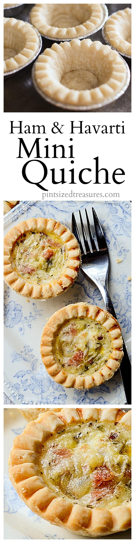 ham and havant cheese mini quiche recipe