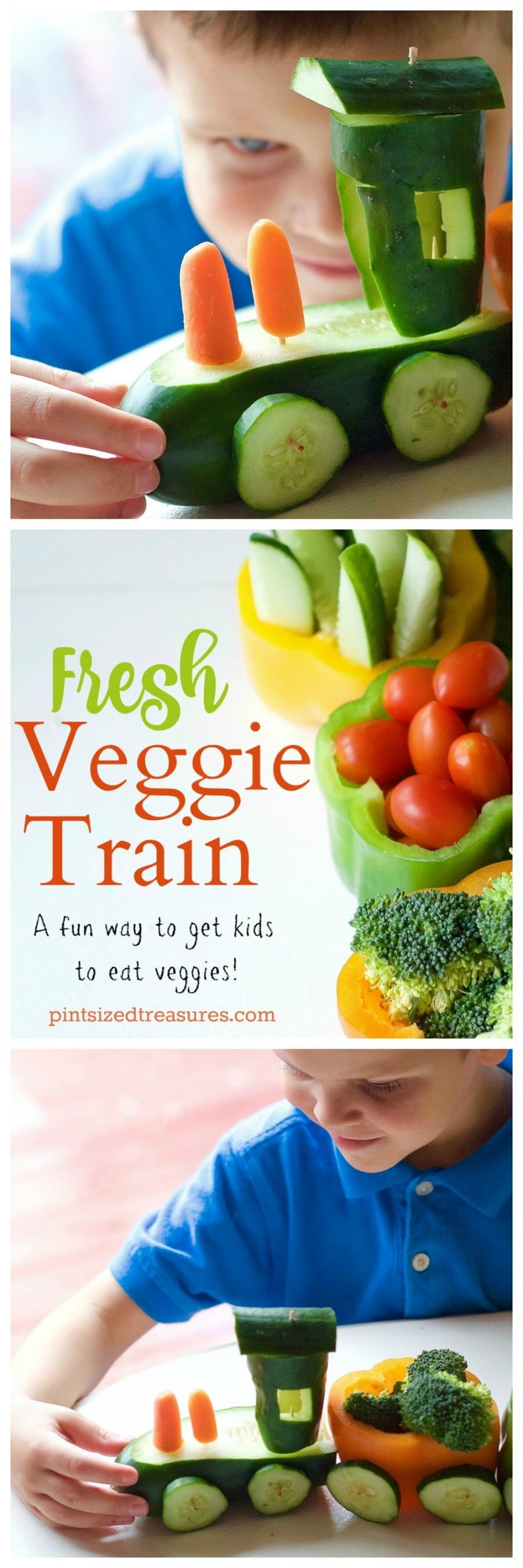 veggie train pinterest collage-1