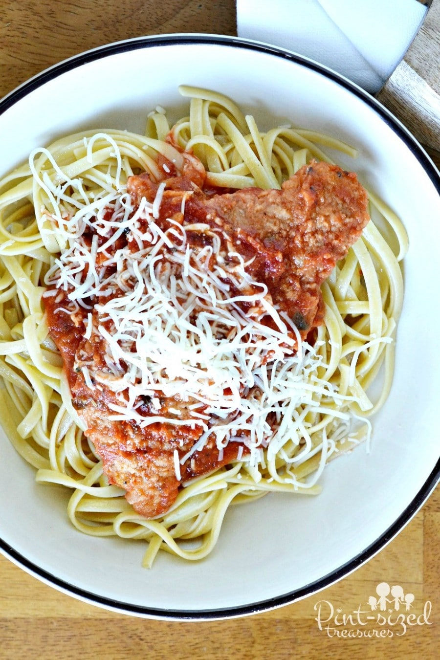 how to make chicken parmesan in foil