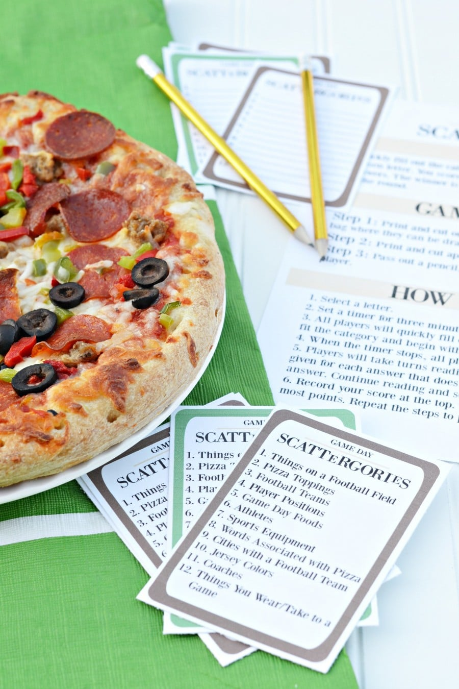 printable games for game day