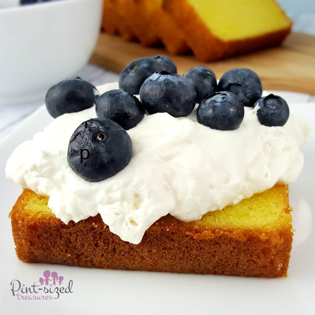 Blueberry Lemon Shortcake