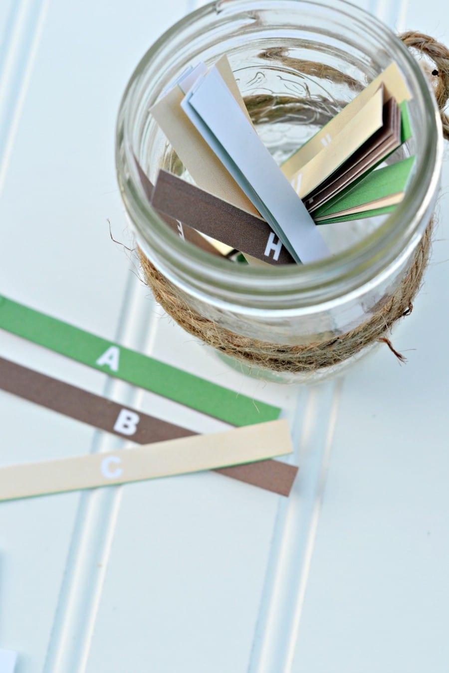 letter strips for scattergories