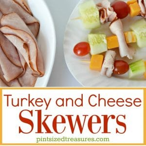 turkey and cheese skewers recipe