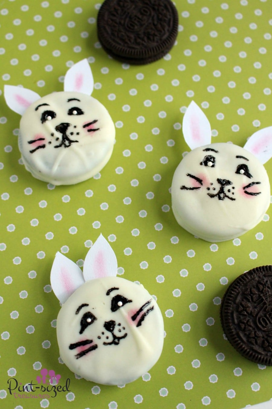 easy bunny oreos