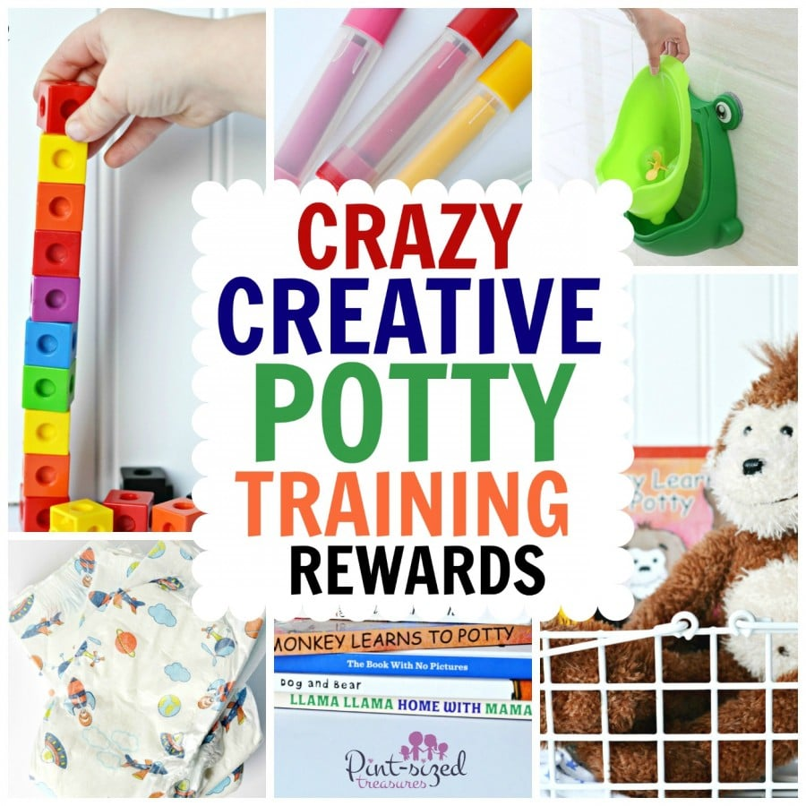 crazy creative potty training rewards  u00b7 pint