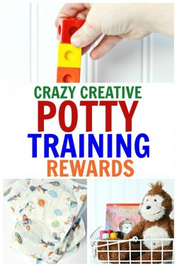 Crazy Creative Potty Training Rewards