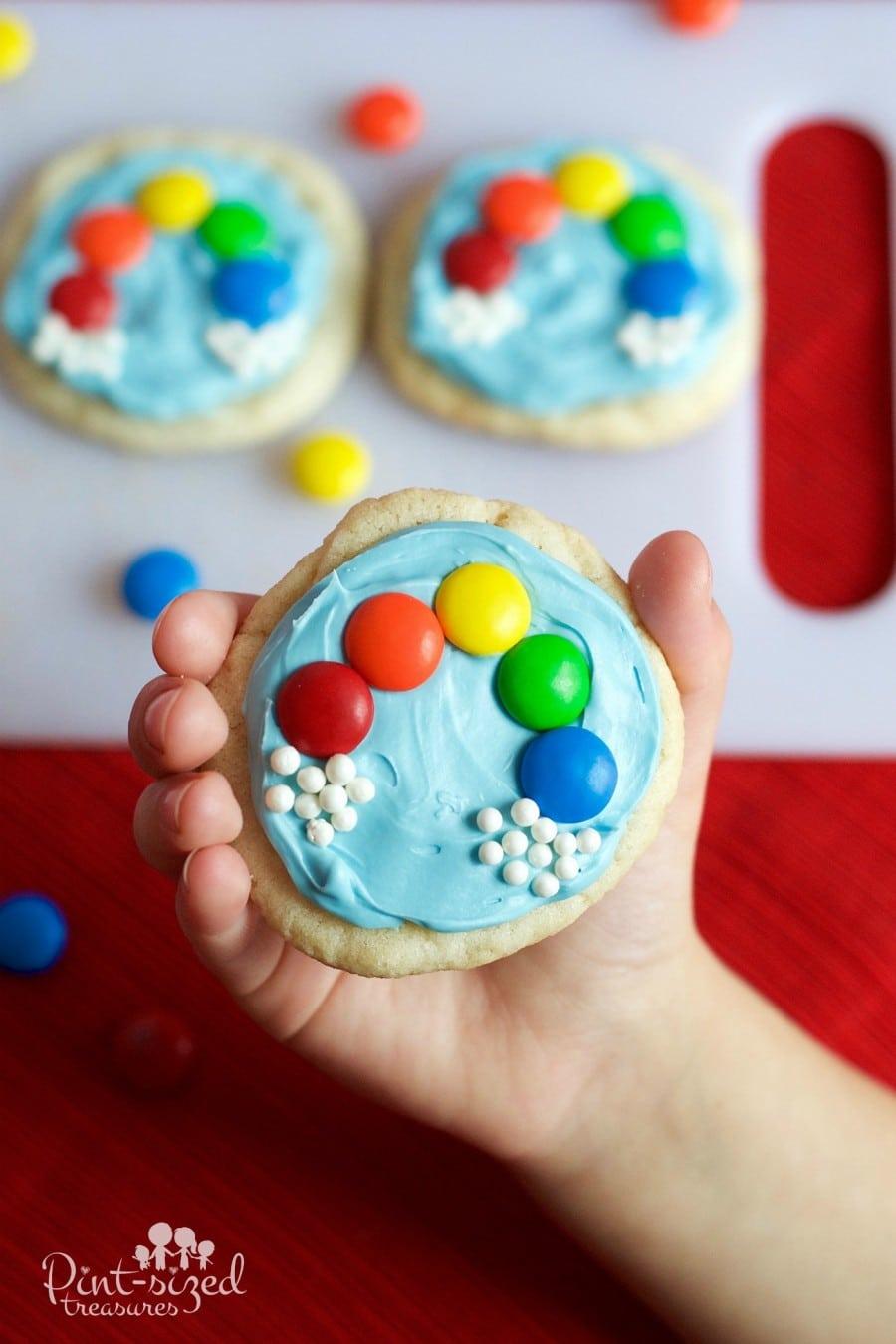 easy rainbow cookies