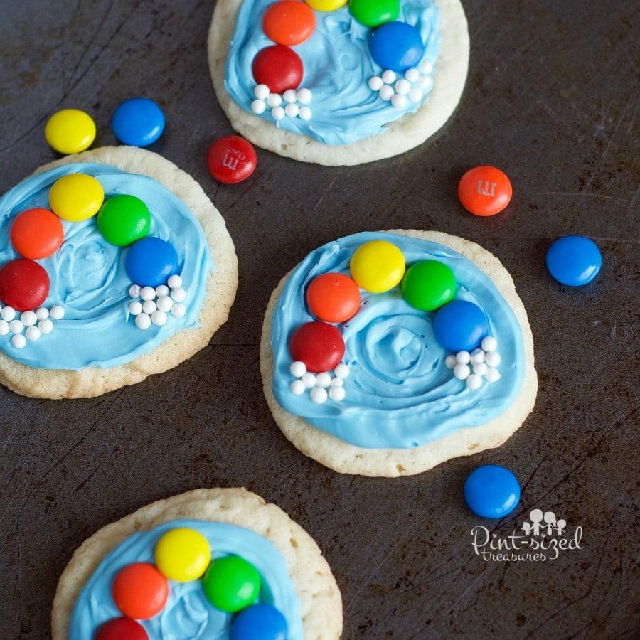 Easy Rainbow Cookies » Pint-sized Treasures
