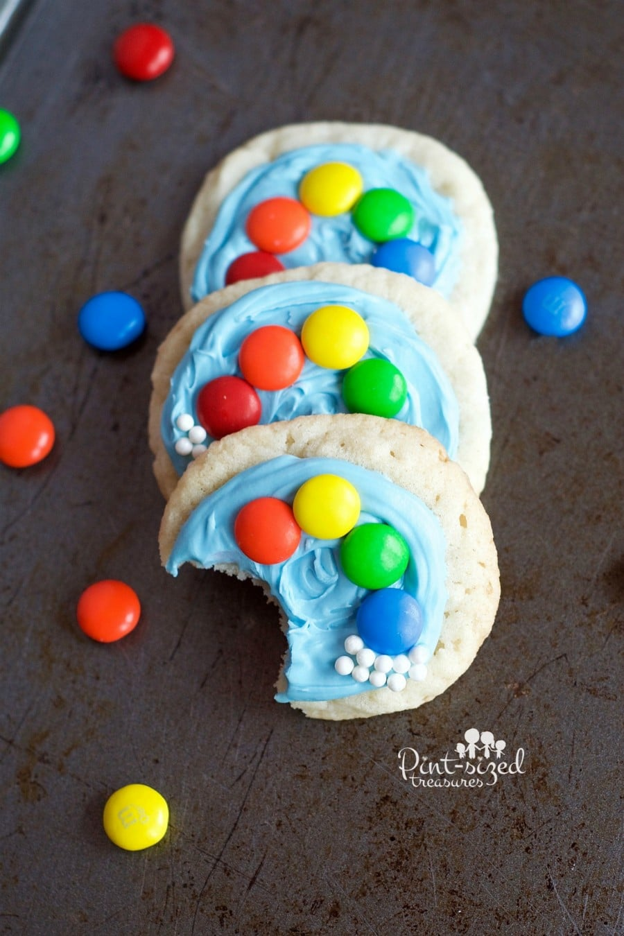 easy rainbow cookies