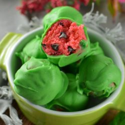 watermelon cake balls