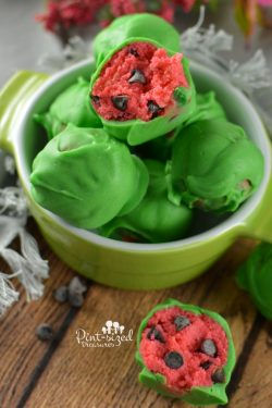 Totally Cute Watermelon Cake Balls