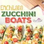 enchilada zucchini boats