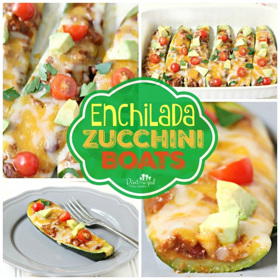 cheesy zucchini boats recipe