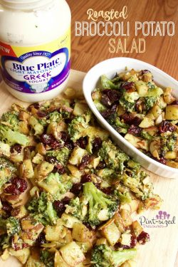 Roasted Broccoli Potato Salad