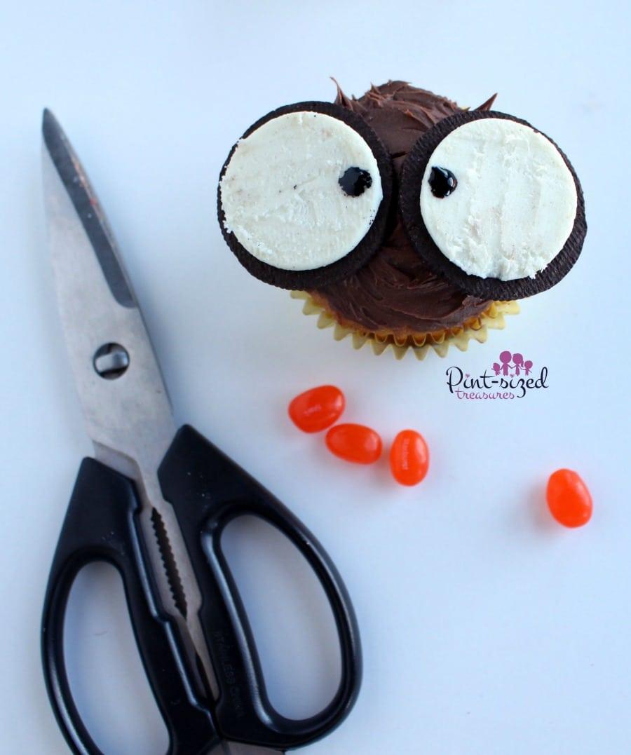 owl cupcake recipe materials