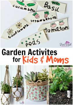 Garden Activities for Kids and Moms