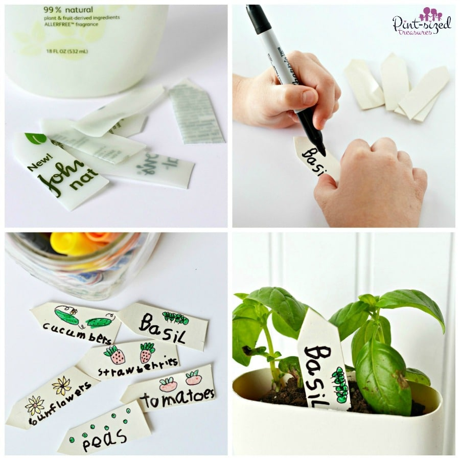 garden markers kids can make