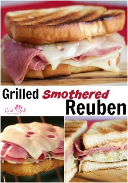 Grilled Smothered Reuben