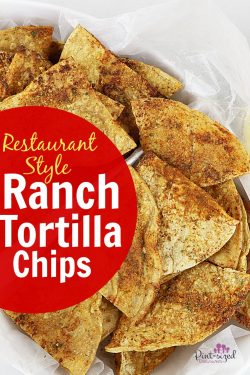 Restaurant Style Ranch Tortilla Chips