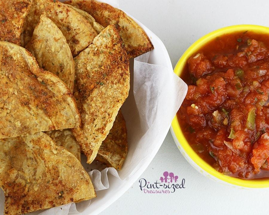 restaurant style ranch tortilla  chips