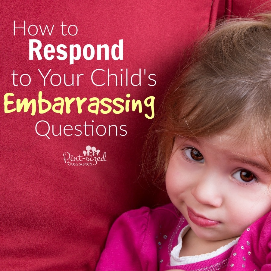 how to answer embarrassing questions