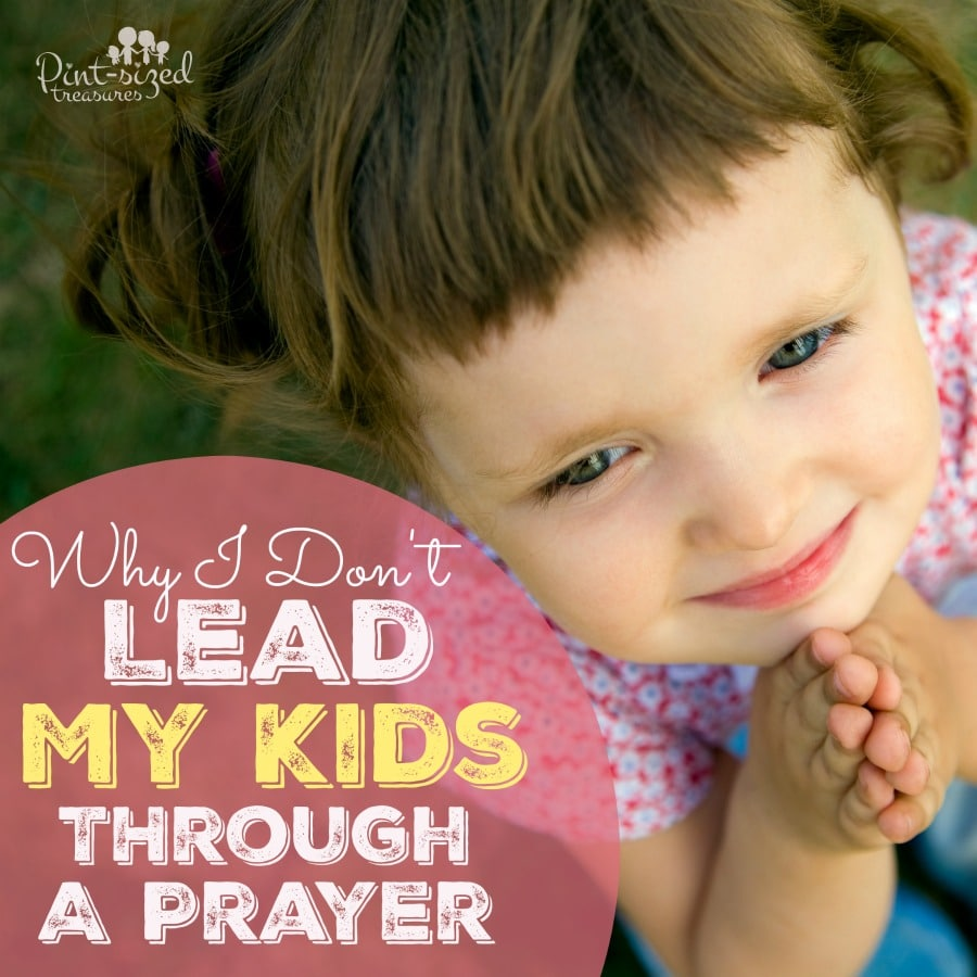 how to teach young children to pray