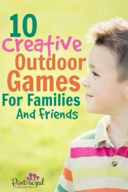 10 Creative Outdoor Games for Families and Friends