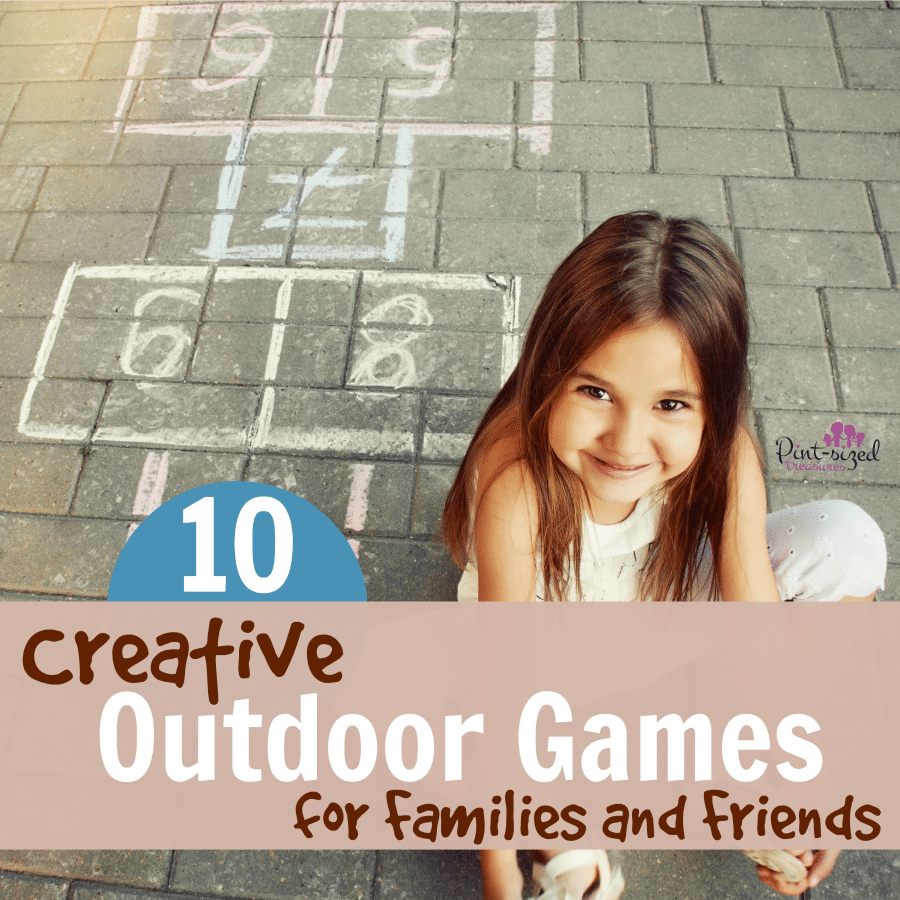 creative outdoor games for families and friends