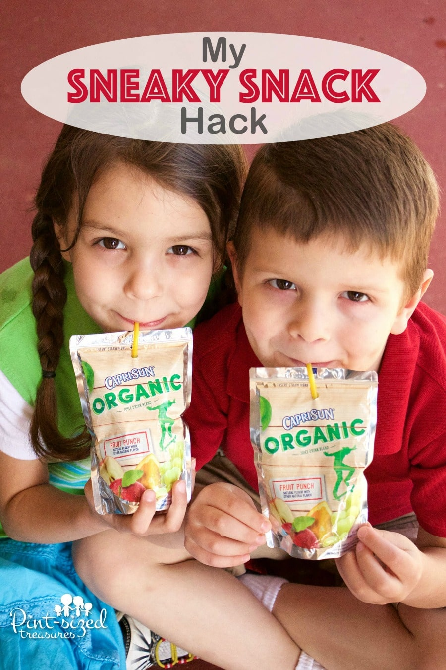 sneaky snack hack for parents