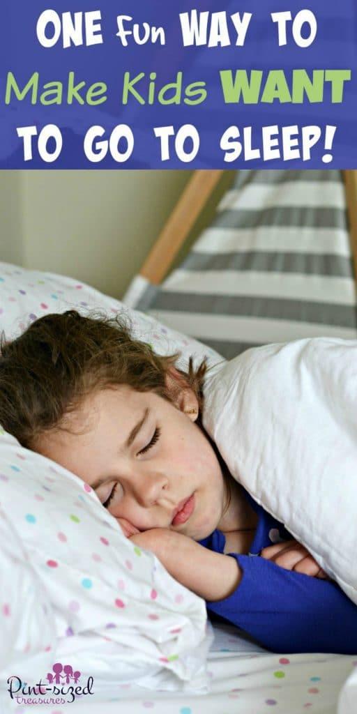 One Fun Way To Make Kids Want to go to Sleep