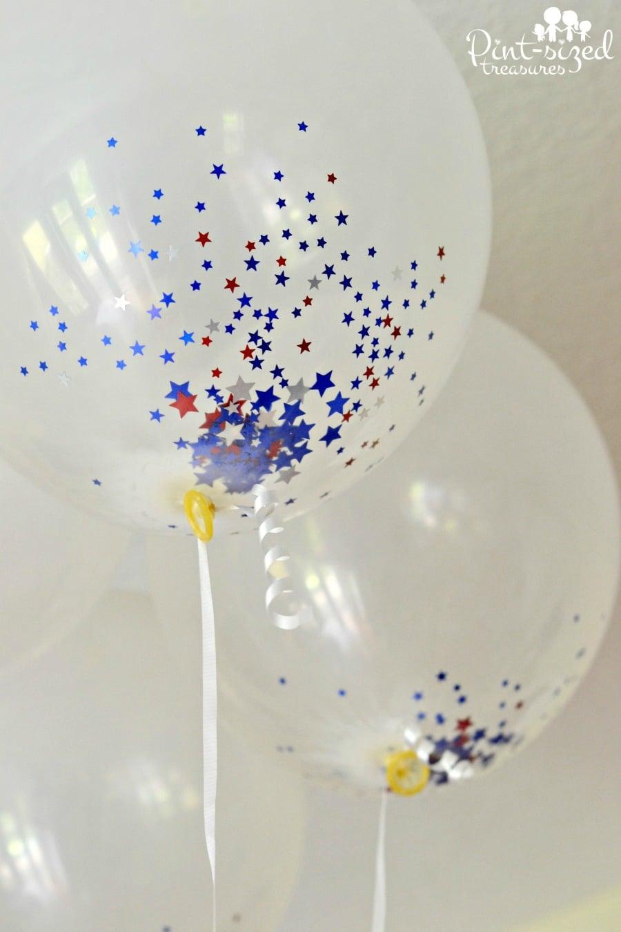diy confetti balloons