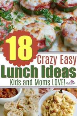 18 Crazy Easy Summer Lunch Ideas for Moms and Kids