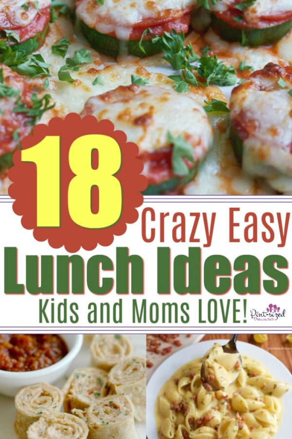Whether it's summer time or the busy school days, parents need super easy lunch recipes that are ready in minutes, make littleness and taste crazy good.NO problem! You'llfind those exact,super-easy lunch recipes right here! Enjoy! #easylunchideas #easysummerlunch #easylunchforkids #easylunchforfamily #easymealideas #15minutemeal #30minutemeal #nofussrecipe #onepotmeal #lazyrecipes