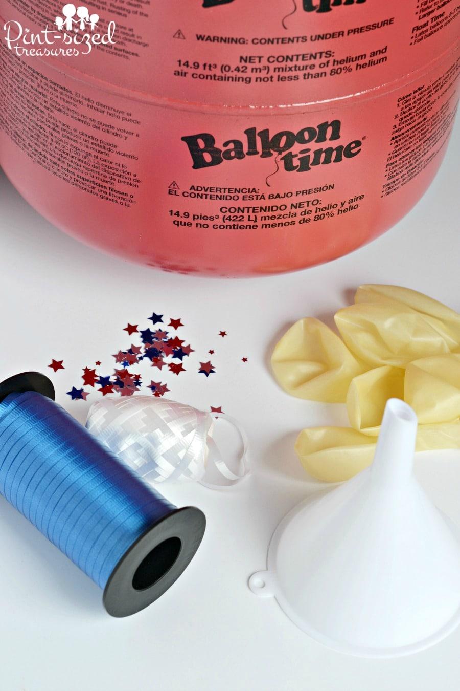 easy diy confetti balloons