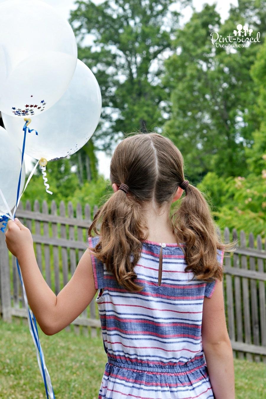 easy confetti balloon craft