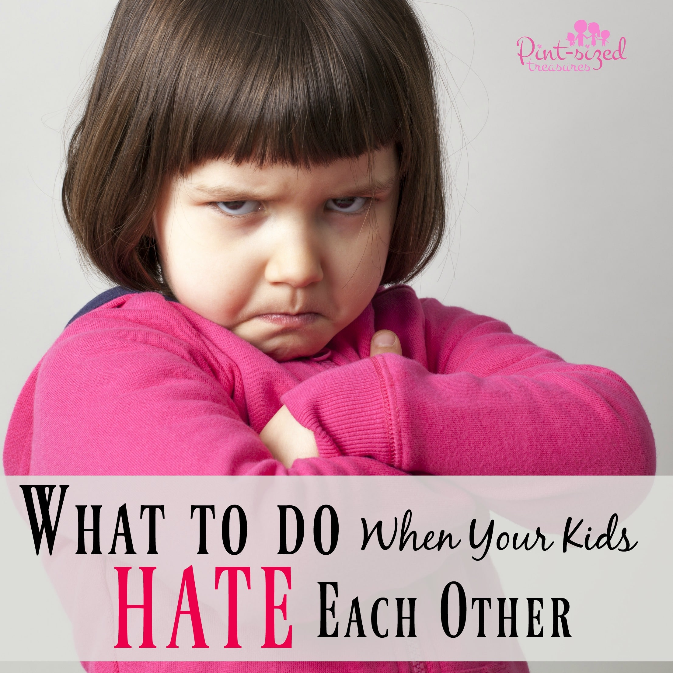Dear Parents, this is what you can do when your kids hate each other