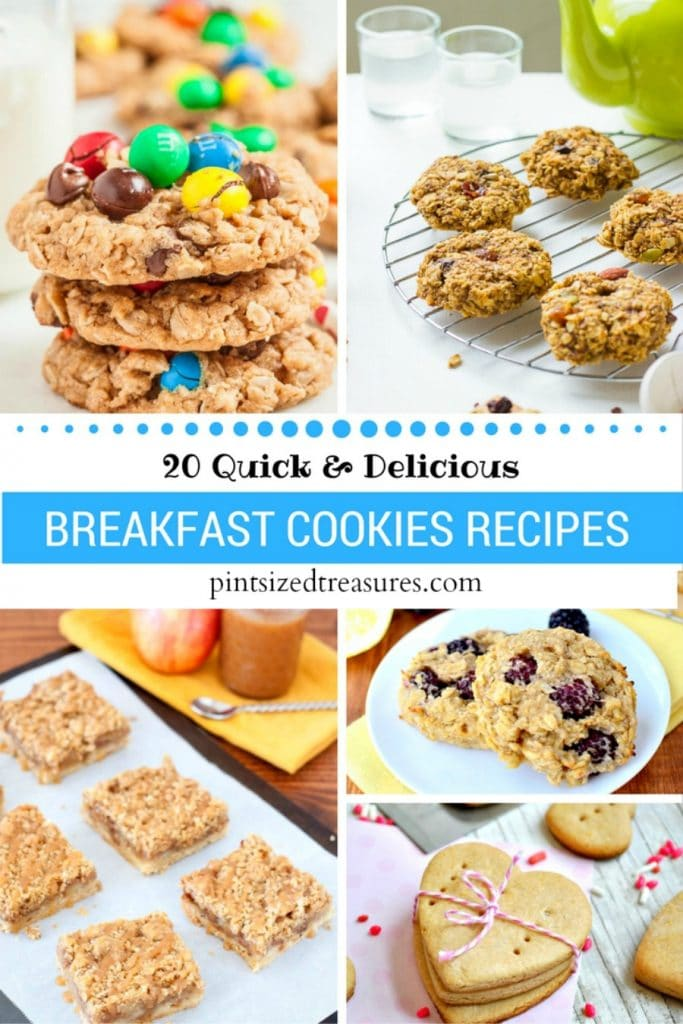 20 Quick Breakfast Cookie Recipes