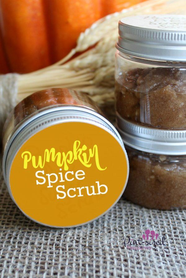 diy pumpkin pie sugar scrub