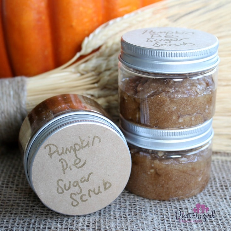 pumpkin pie sugar scrub