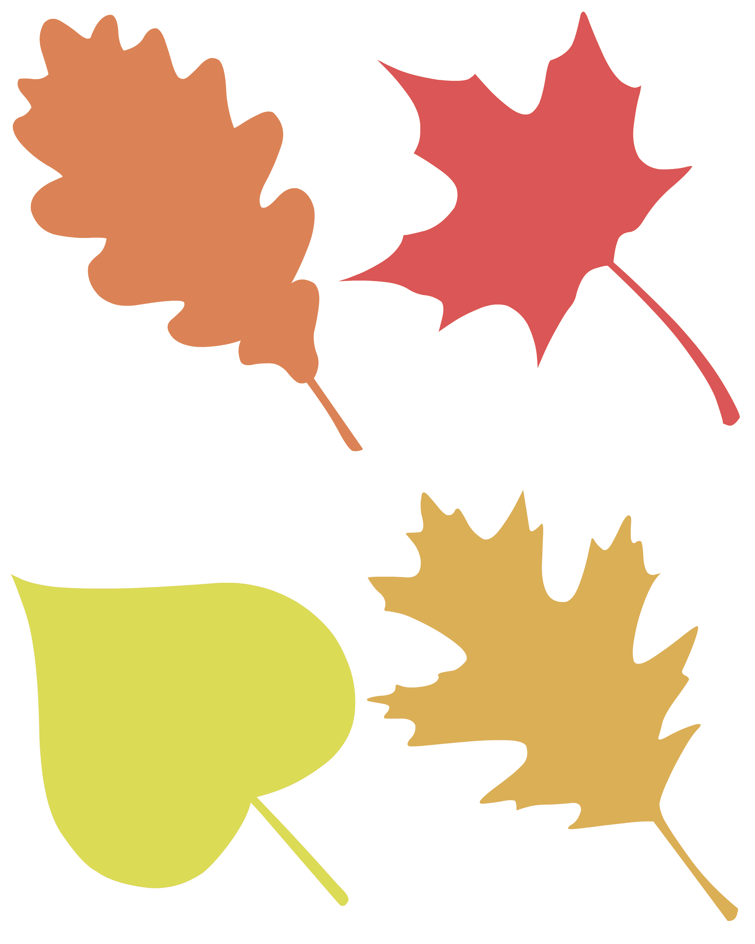 almost mess free leaf silhouette paintings pint sized treasures