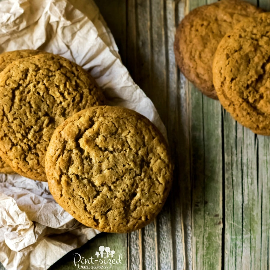 easy soft batch gingersnap cookies recipe