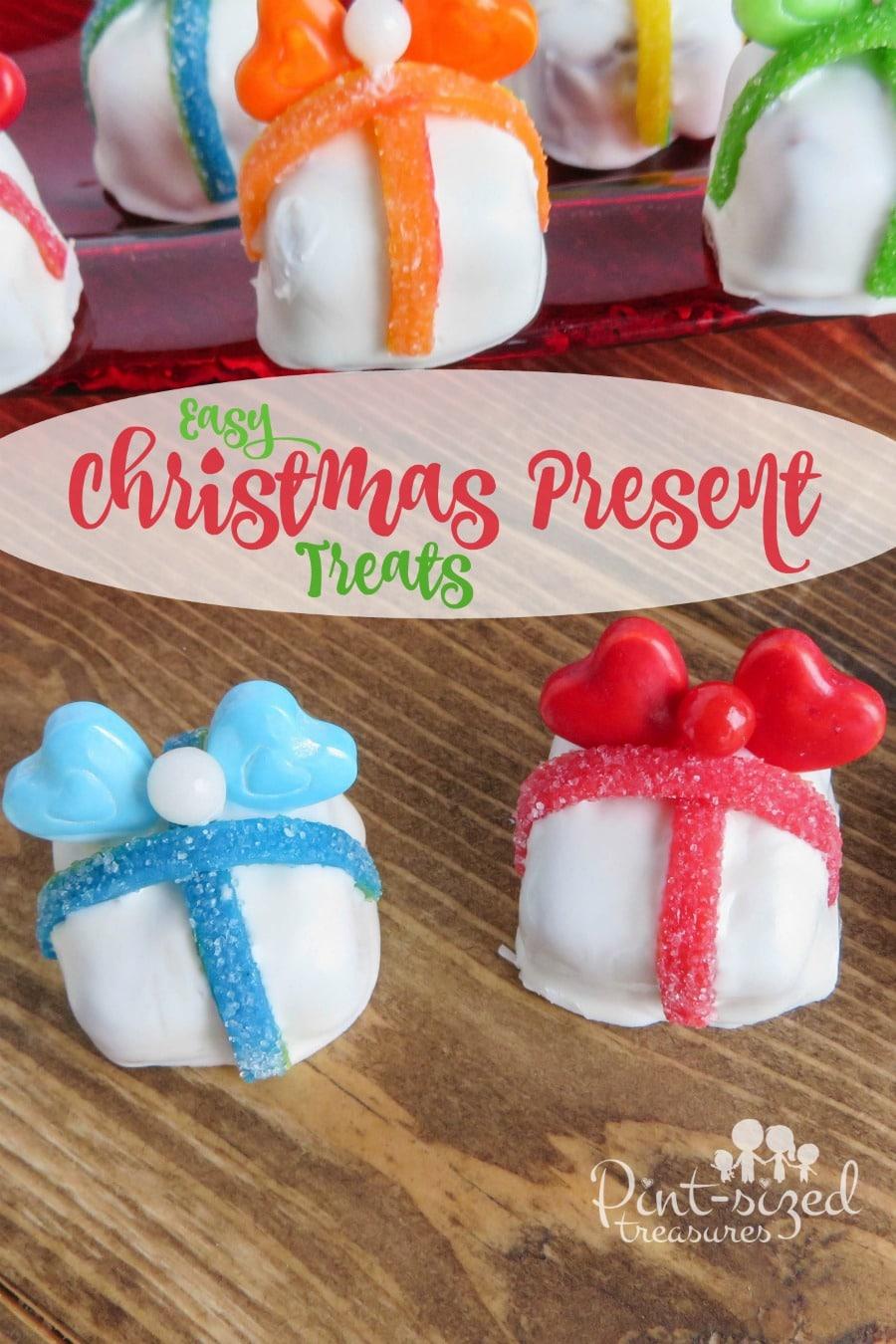 easy Christmas present treats